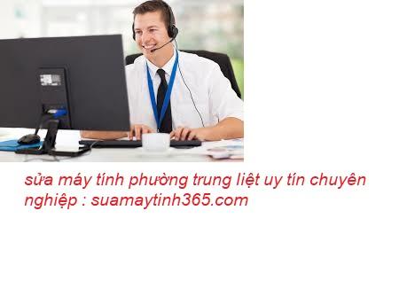 sửa máy tính phường trung liệt giá rẻ